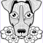 Dogs Coloring Pages For Adults Awesome Photos Dogs Coloring Pages Difficult Adult Coloring Home