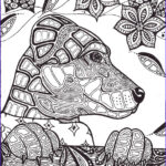 Dogs Coloring Pages For Adults Beautiful Photos Archeia V3 By Lindseyrossink Deviantart