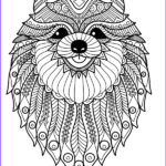 Dogs Coloring Pages For Adults Beautiful Photos Doodle Dogs Coloring Books For Grownups Featuring Over 30