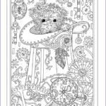 Dogs Coloring Pages For Adults Beautiful Photos Steampunk Pup Playful Puppies Coloring Book By Marjorie
