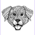 Dogs Coloring Pages For Adults Inspirational Photos Art Therapy Adult Coloring And Doggies On Pinterest