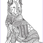 Dogs Coloring Pages For Adults New Stock 629 Best Images About Adult Colouring Cats Dogs
