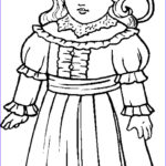 Doll Coloring Awesome Gallery Dolls Coloring Pages