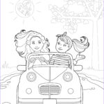 Doll Coloring Beautiful Image Doll Coloring Books