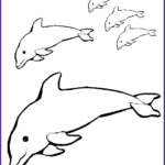 Dolphin Coloring Book Elegant Images Free Printable Dolphin Coloring Pages For Kids