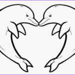 Dolphin Coloring Pictures Beautiful Photos Free Printable Dolphins Download Free Clip
