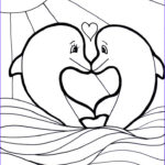 Dolphin Coloring Pictures Inspirational Image 186 Best Fish Sealife Dolphin Coloring For Adults Art