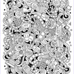 Doodle Art Coloring Pages Best Of Collection Doodle Art To Color For Children Doodle Art Kids