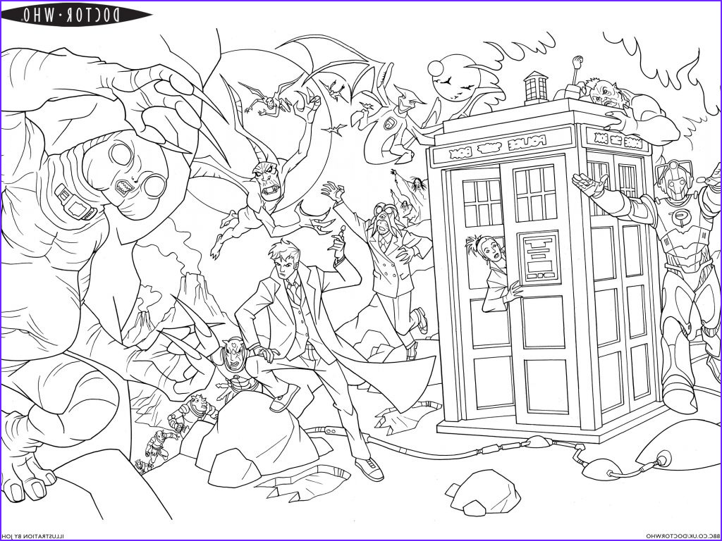 Door Coloring Page Inspirational Photos Best Doctor who Coloring Pages Unknown Resolutions