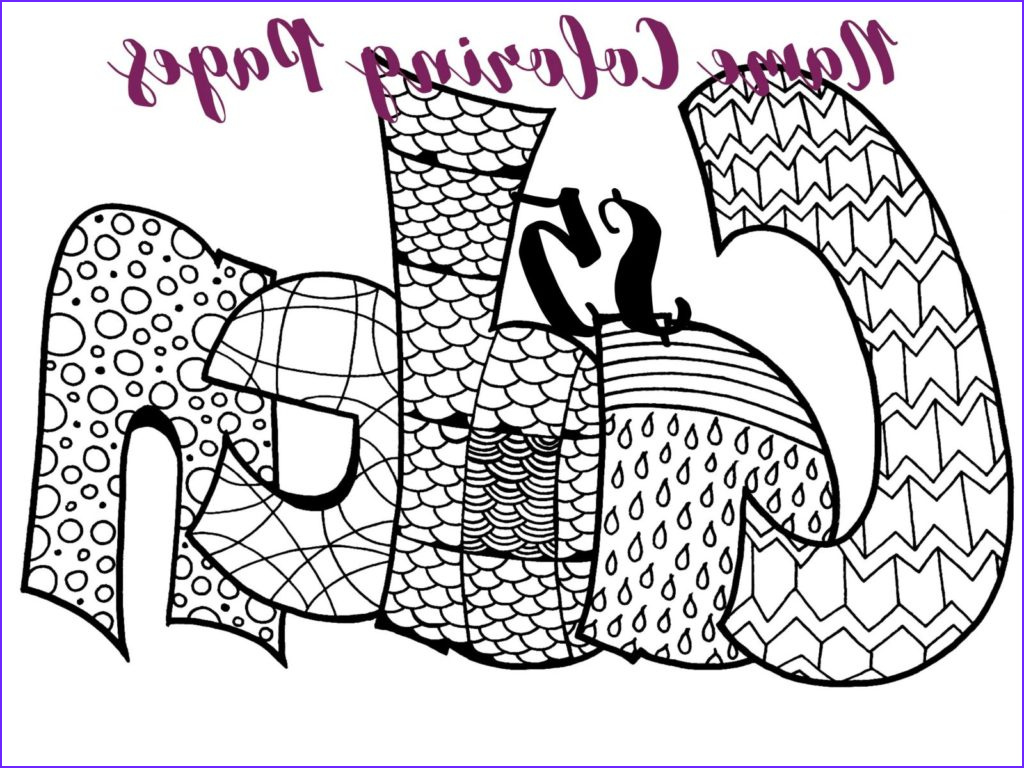 Door Coloring Page Inspirational Stock Custom Name Coloring Pages