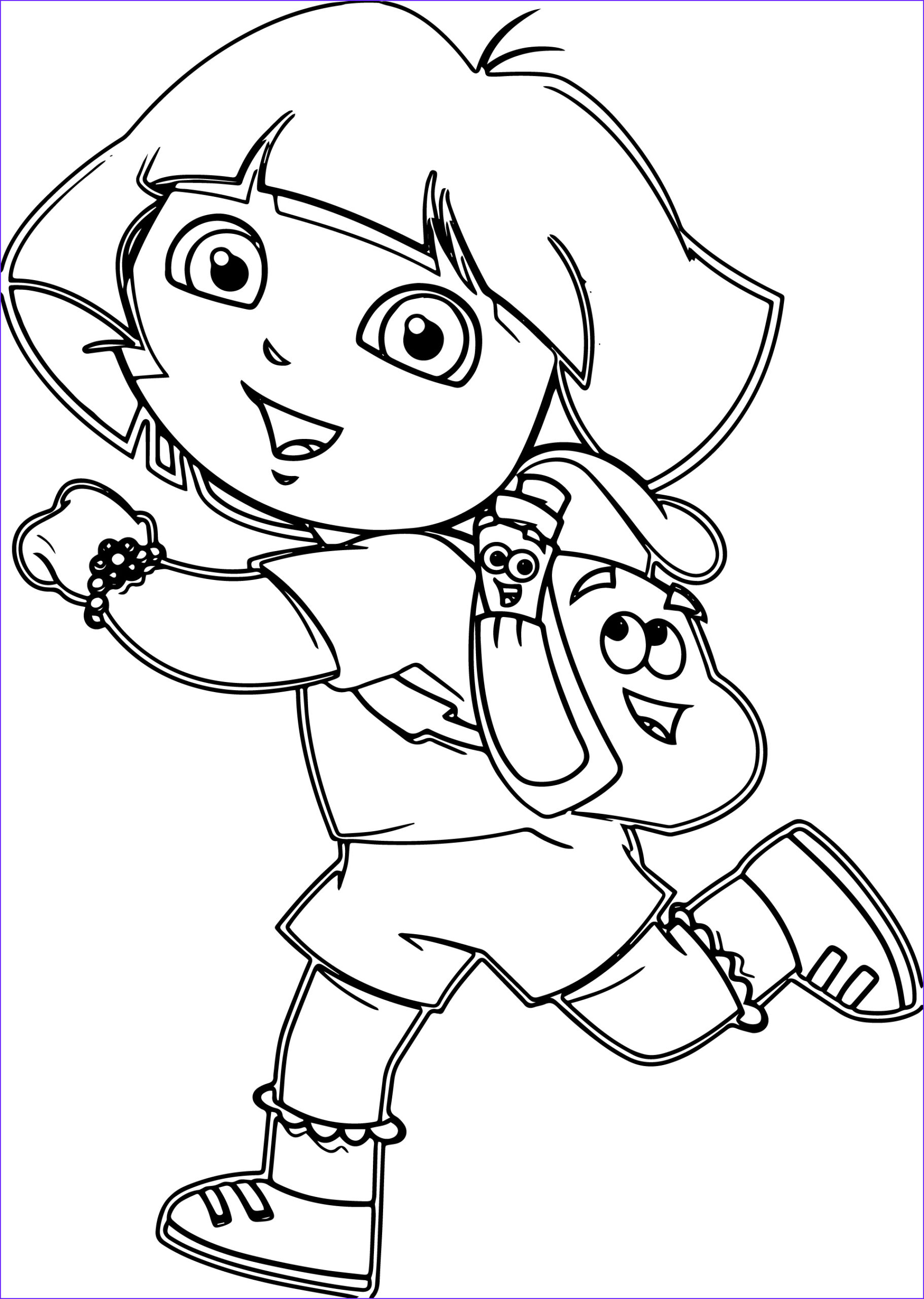 dora drawing pictures