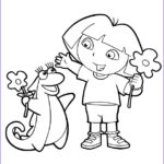 Dora The Explorer Coloring Book Awesome Collection Free Printable Dora The Explorer Coloring Pages For Kids