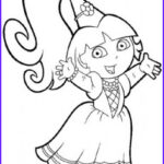 Dora The Explorer Coloring Book Awesome Photography Printable Princess Dora The Explorer Coloring Page