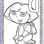 Dora The Explorer Coloring Book Beautiful Photography Cartoons Coloring Pages Dora The Explorer Coloring Pages
