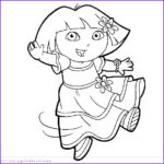 Dora The Explorer Coloring Book Cool Images Coloring Blog For Kids Dora Coloring Pages For Kids