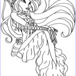 Download Coloring Pages Cool Collection Winx Mermaid Coloring Pages to Print and for Free