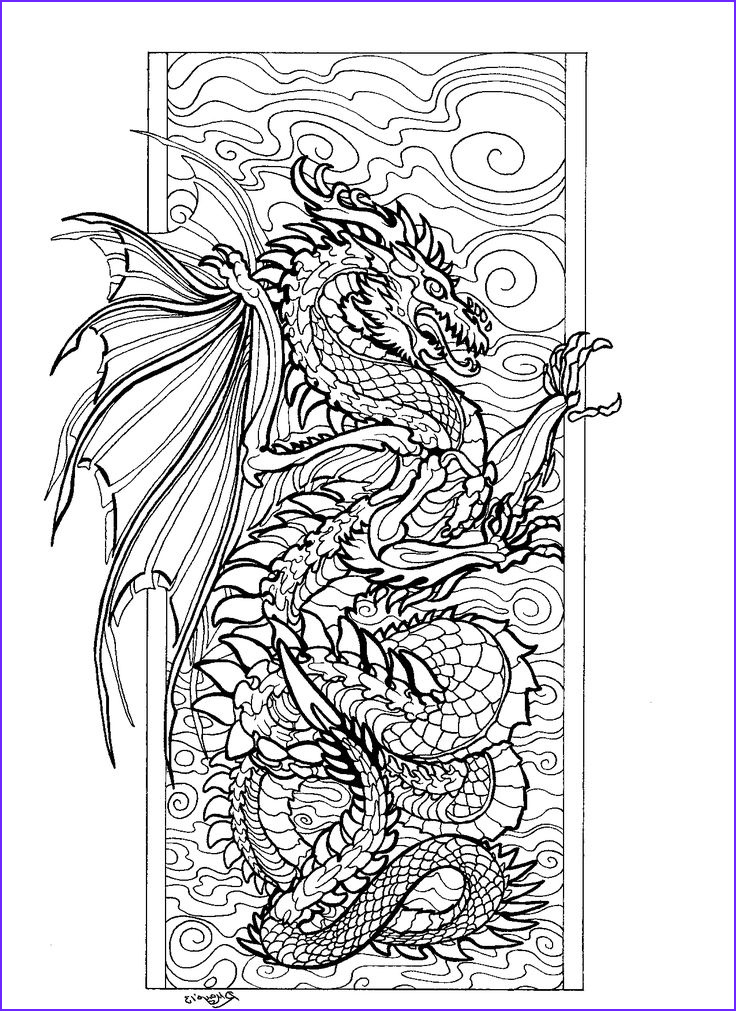 Downloadable Adult Coloring Books Best Of Photos 20 Best Images About Dragon Color Pages On Pinterest