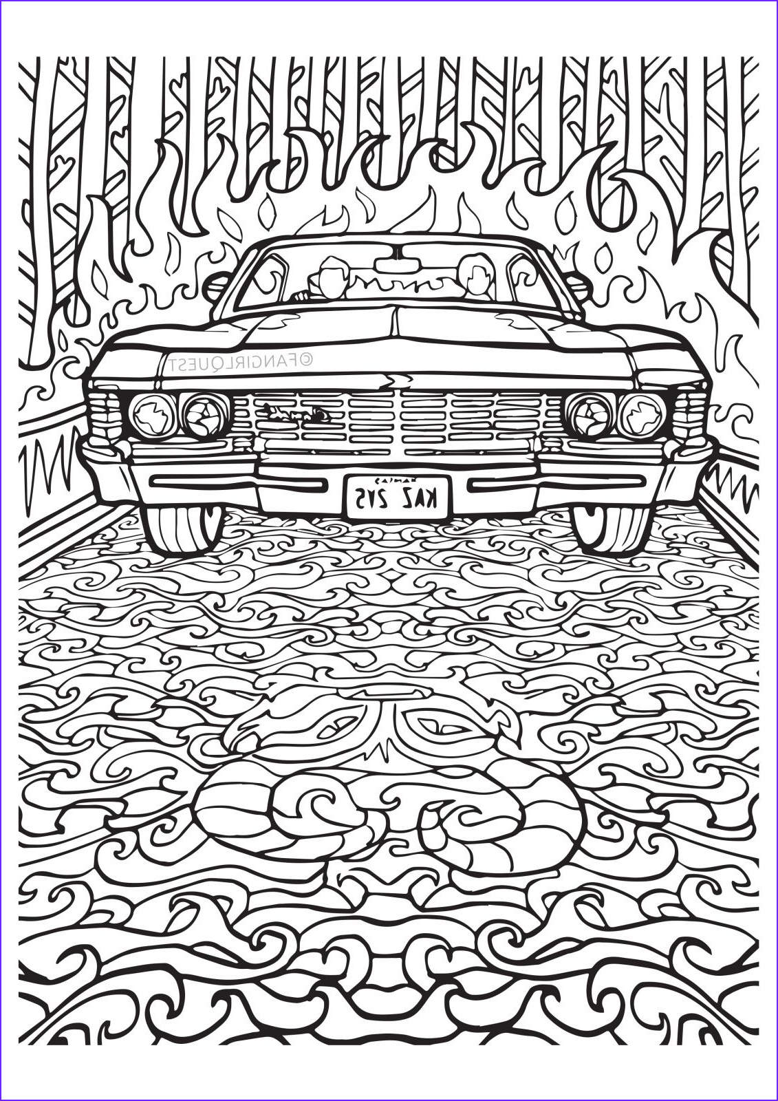 Downloadable Adult Coloring Books Luxury Photos Supernatural Coloring Book — Color Your Own Castiel
