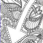 Downloadable Coloring Pages For Adults Best Of Image Abstract Coloring Page For Adults High Resolution Free