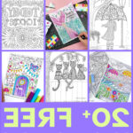 Downloadable Coloring Pages For Adults Best Of Photos Free Adult Coloring Pages Happiness Is Homemade