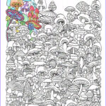 Downloadable Coloring Pages For Adults Unique Photos Adult Coloring Page Mushrooms Printable Coloring Page For