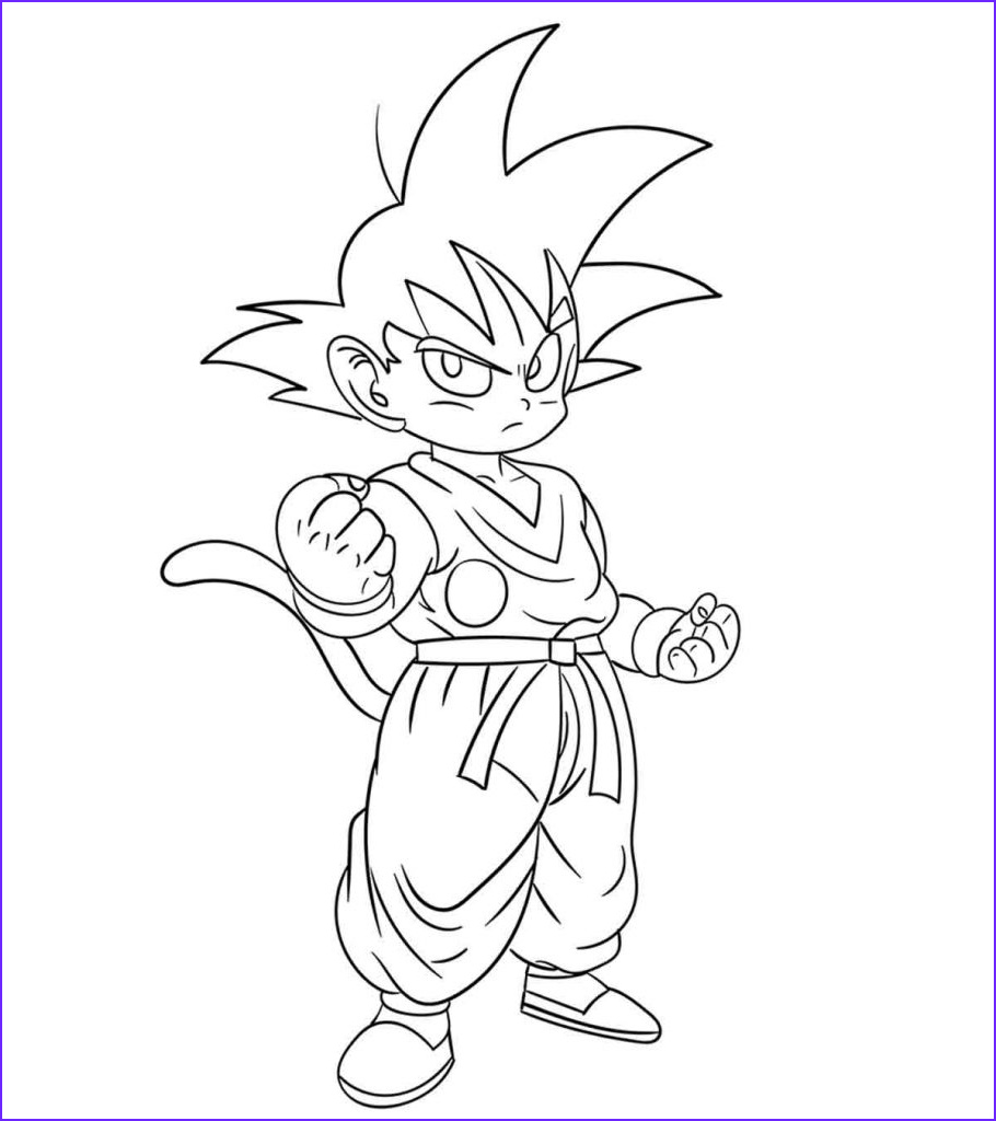 dragon ball z coloring pages toddler will love