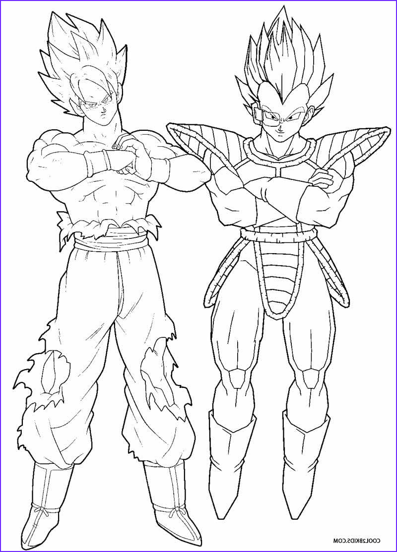 Dragon Ball Z Coloring Beautiful Gallery Printable Goku Coloring Pages for Kids