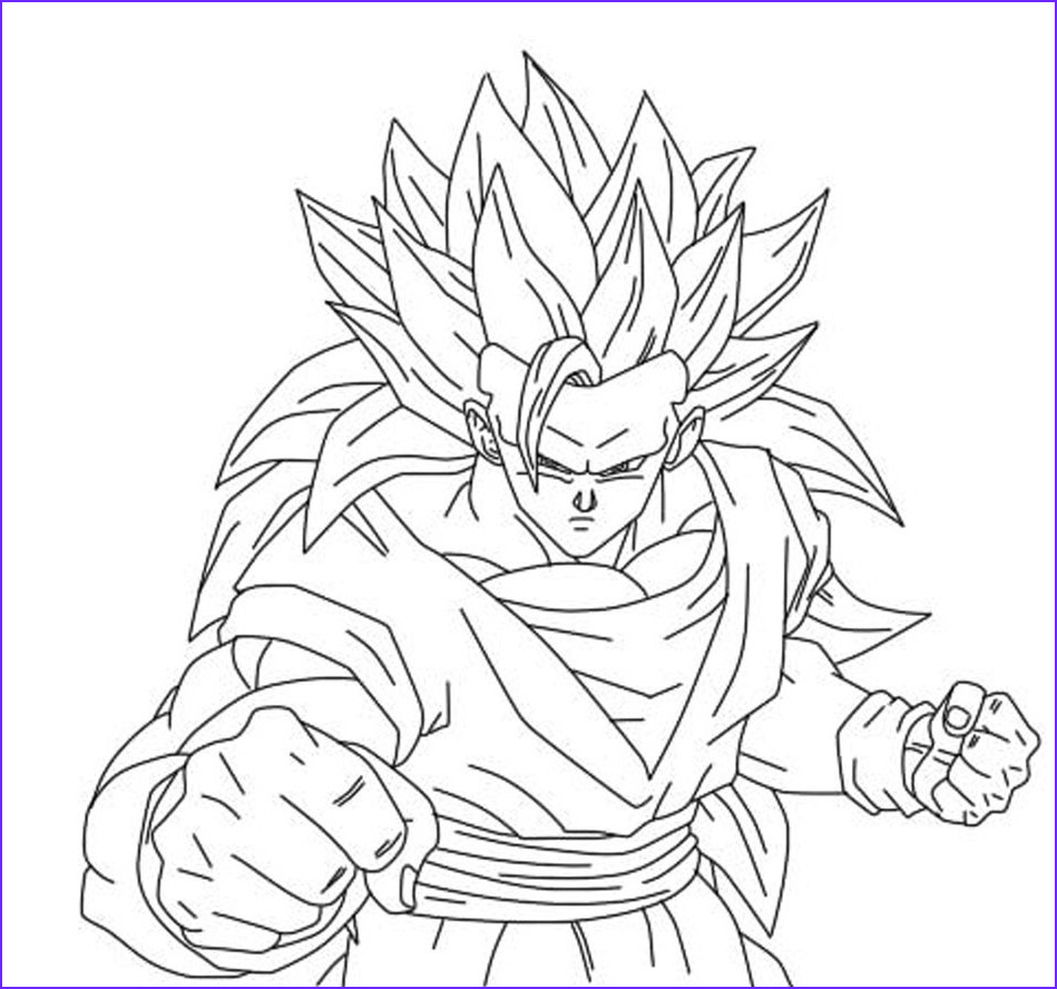 Dragon Ball Z Coloring Best Of Images Free Printable Dragon Ball Z Coloring Pages for Kids