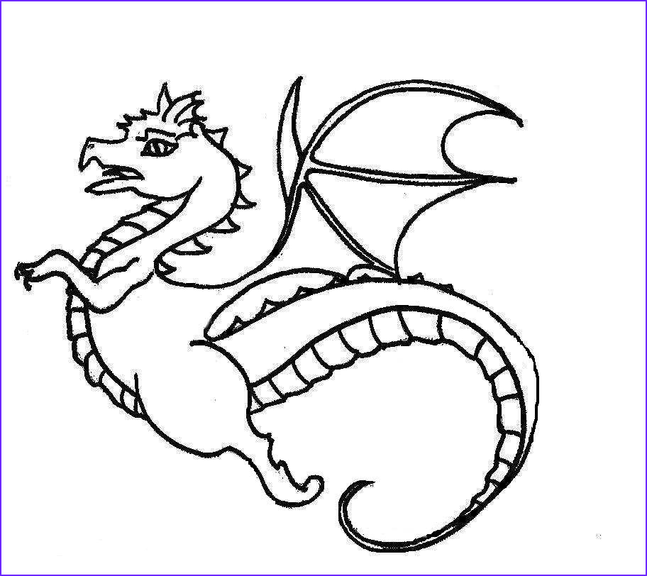 Dragon Coloring Beautiful Collection Dragon Coloring Pages