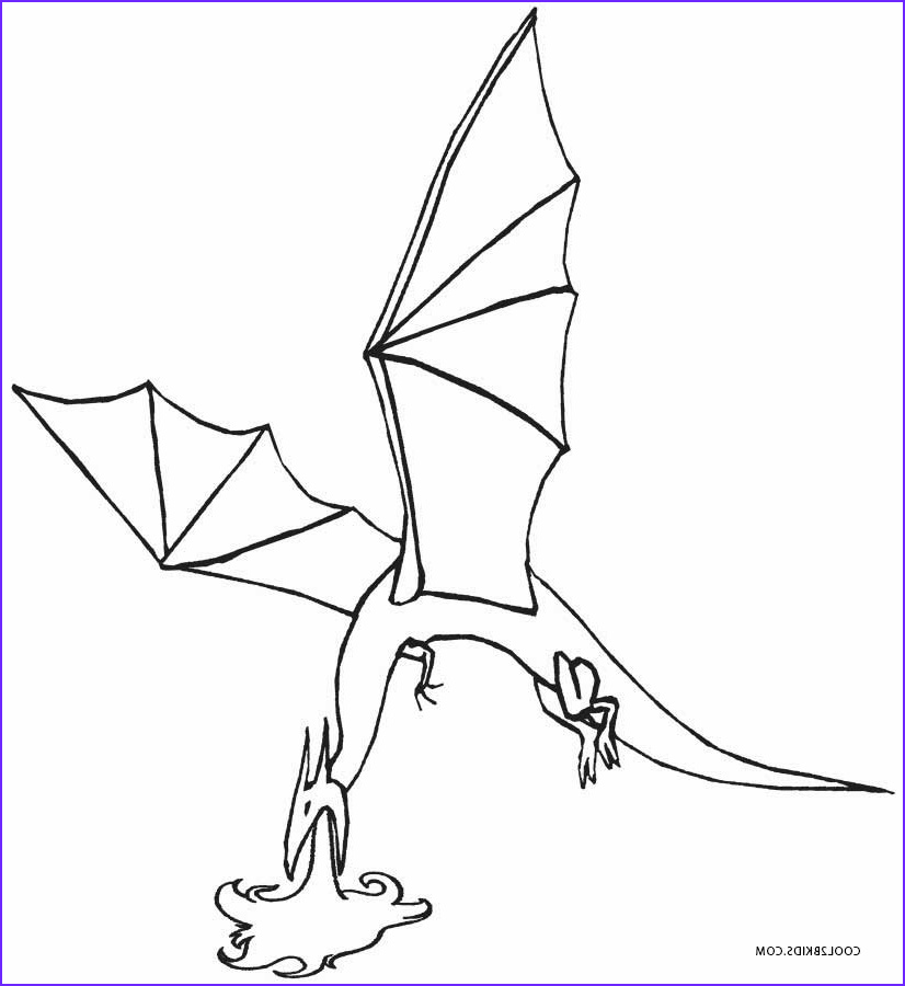 Dragon Coloring Inspirational Stock Printable Dragon Coloring Pages for Kids