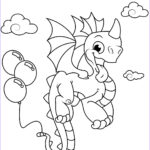 Dragon Coloring Pages Beautiful Stock Balloon Coloring Pages Best Coloring Pages For Kids