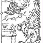 Dragon Coloring Pages Beautiful Stock Monster Brains The Ficial Advanced Dungeons And Dragons