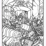 Dragon Coloring Pages Inspirational Collection Monster Brains The Ficial Advanced Dungeons And Dragons