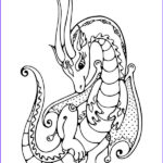 Dragon Coloring Pages Luxury Stock Dragon Coloring Pages