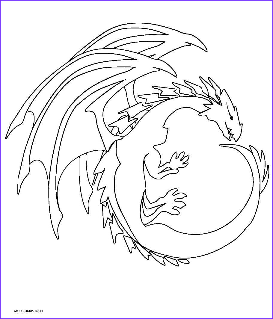 Dragon Coloring Pictures Beautiful Photos Printable Dragon Coloring Pages for Kids