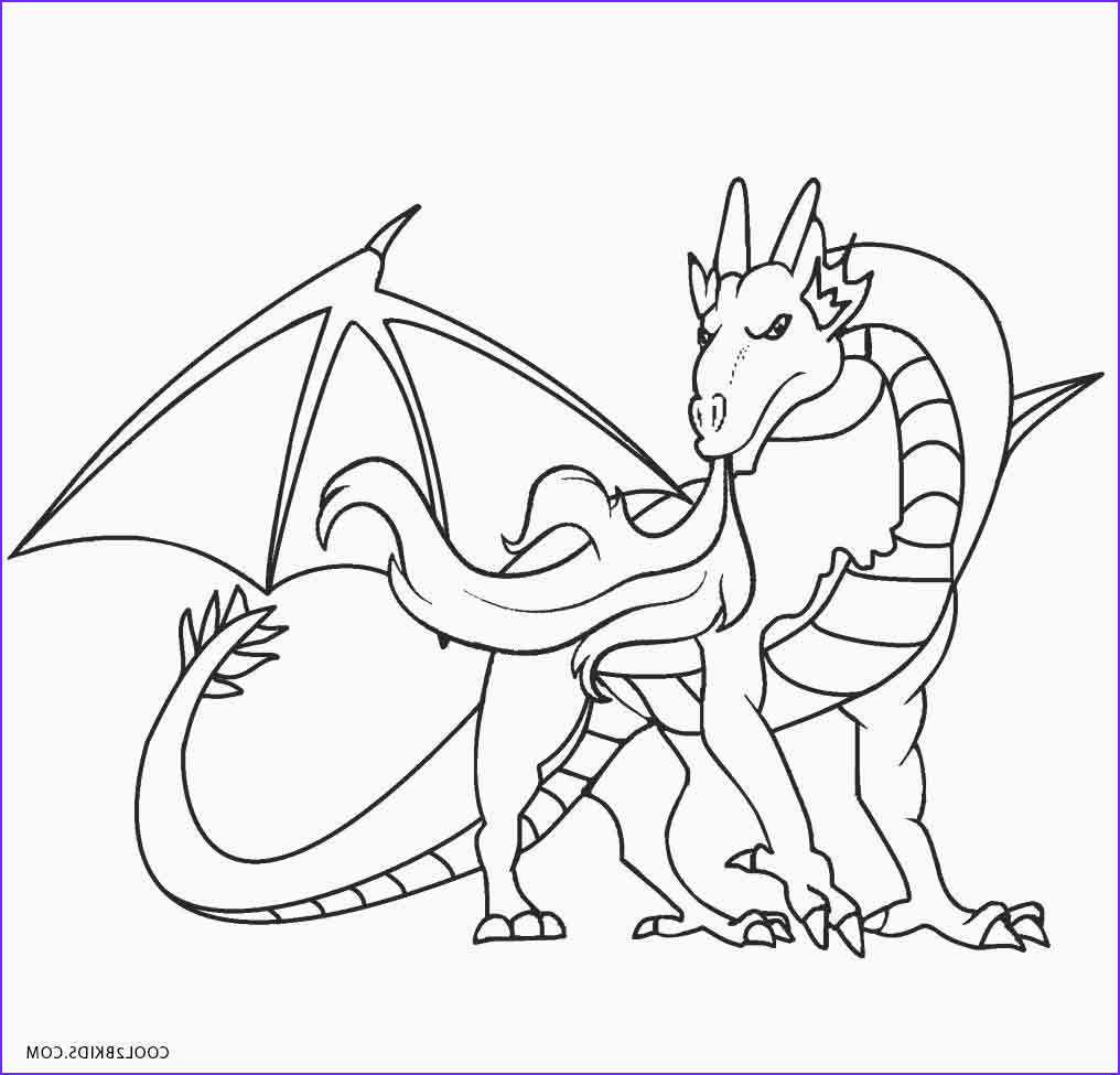Dragon Coloring Pictures Inspirational Collection Printable Dragon Coloring Pages for Kids