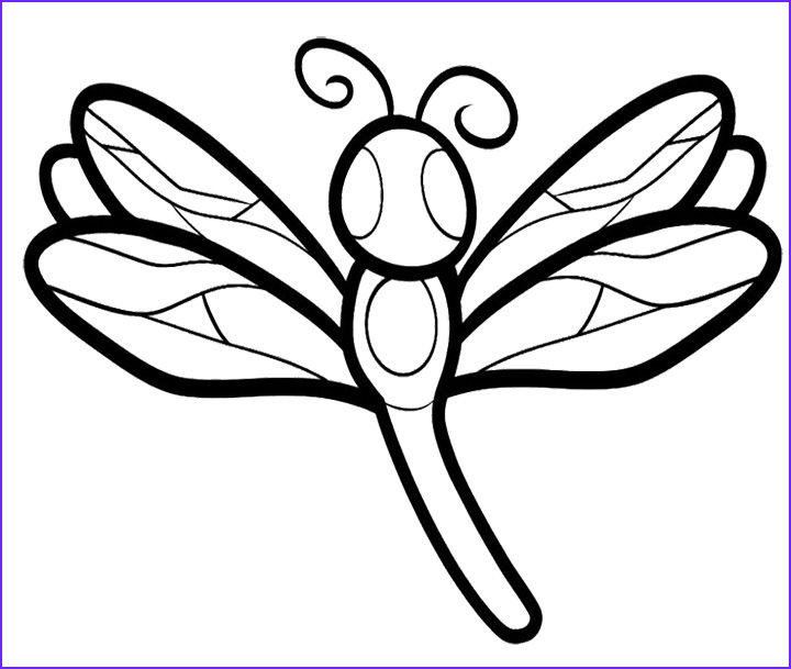 Dragon Fly Coloring Beautiful Stock Dragonfly Coloring Pages for Adult