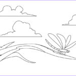 Dragonfly Coloring Elegant Stock Free Printable Dragonfly Coloring Pages For Kids