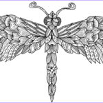 Dragonfly Coloring Unique Collection Dragonfly Colouring Page By Welshpixie On Deviantart