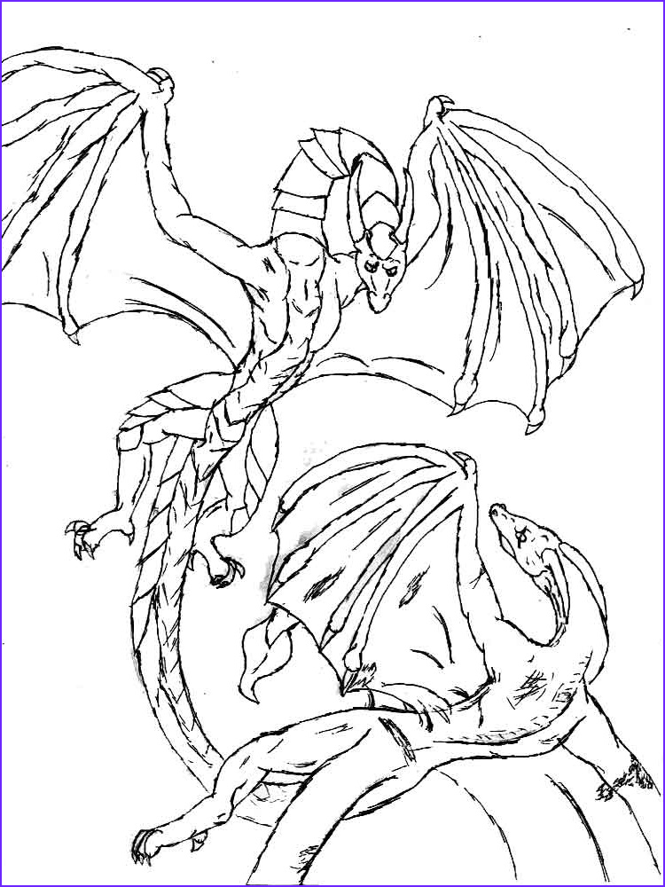 Dragons Coloring Book Awesome Photos Dragons Coloring Pages Download and Print Dragons