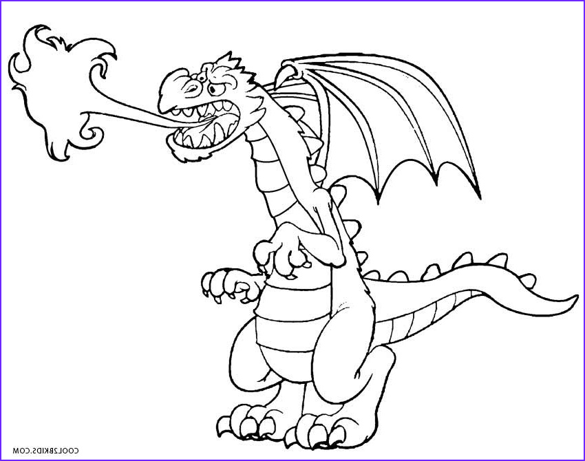 Dragons Coloring Book Inspirational Image Printable Dragon Coloring Pages for Kids