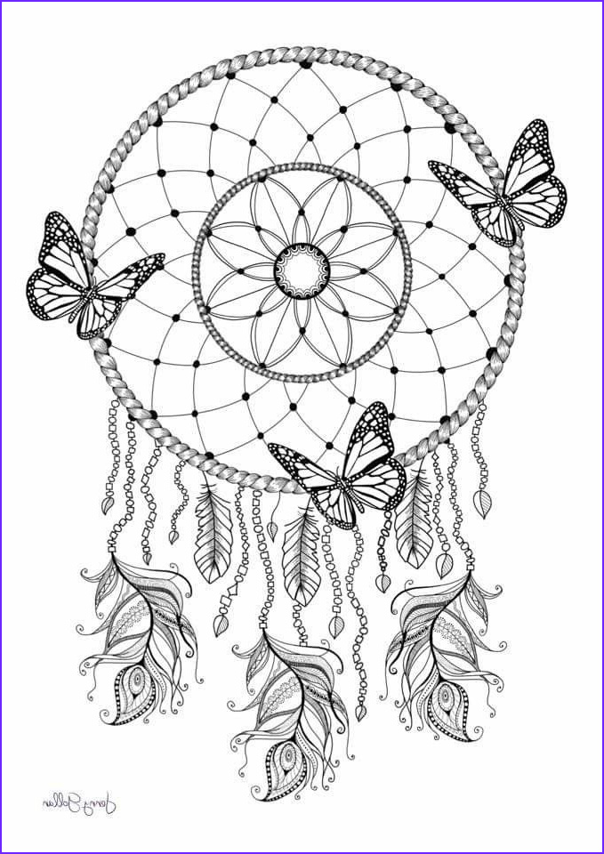 Dream Catcher Coloring Book Awesome Photos Dream Catcher Coloring Pg Color Me Happy