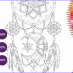 Dream Catcher Coloring Book Beautiful Images Dreamcatcher Coloring Pages Adult Coloring Book Printable