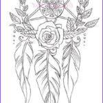 Dream Catcher Coloring Book Beautiful Photos Coloring Page Dreamcatchers By Clareandcollie