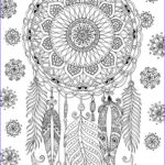 Dream Catcher Coloring Book Beautiful Photos Dreamcatcher Coloring Page By Felicity French