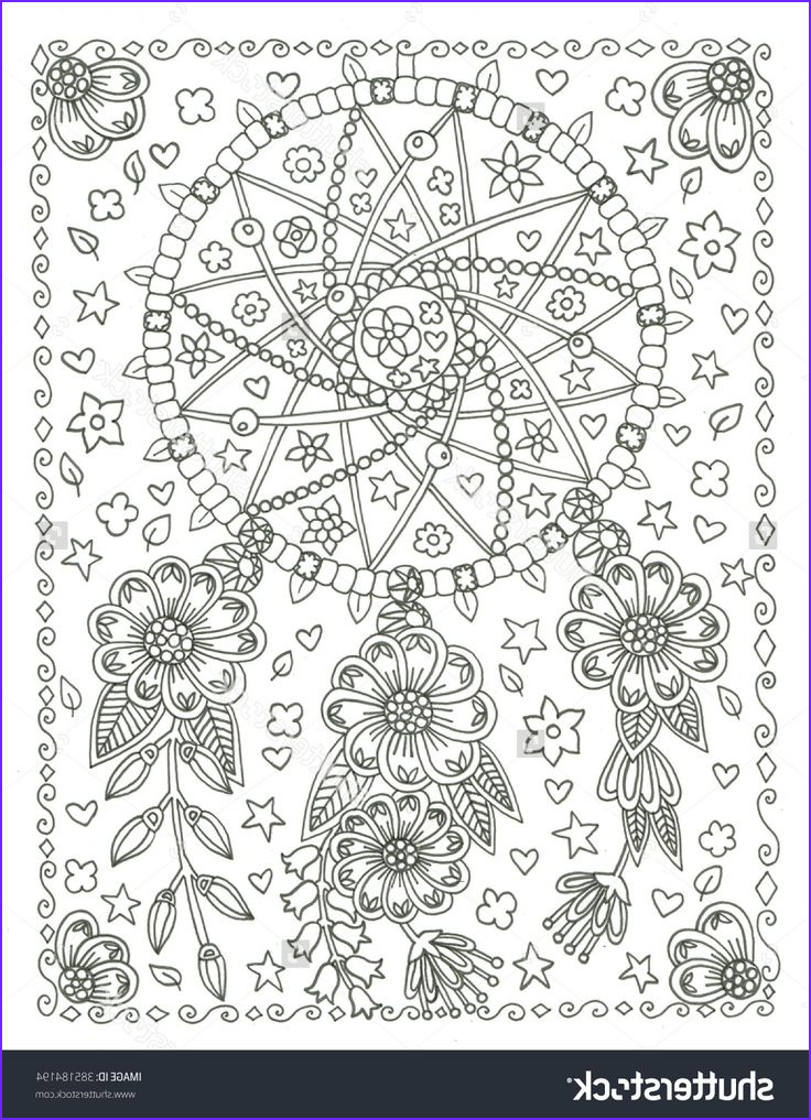 Dream Catcher Coloring Book Best Of Photos 159 Best Dreamcatcher Coloring Pages for Adults Images On