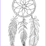 Dream Catcher Coloring Book Cool Photos Free Printable Dream Catcher Coloring Page The Graphics