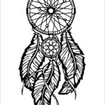 Dream Catcher Coloring Book Luxury Image Dreamcatcher Big Feathers Dreamcatchers Adult Coloring Pages