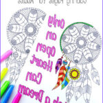 Dream Catcher Coloring Book New Stock Dream Catcher Coloring Pages For Adults