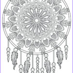 Dream Catcher Coloring Page Beautiful Image Dream Catcher Coloring Pages Best Coloring Pages For Kids